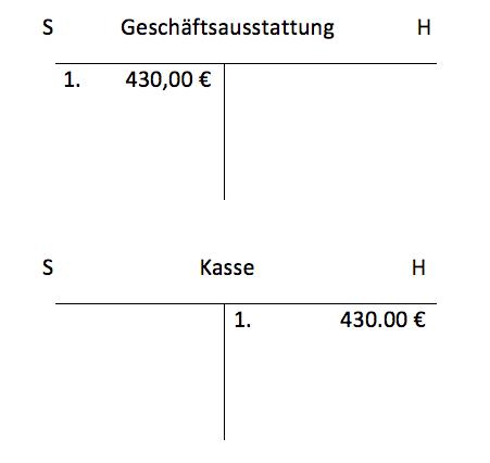 Buchungssatz Beispiel