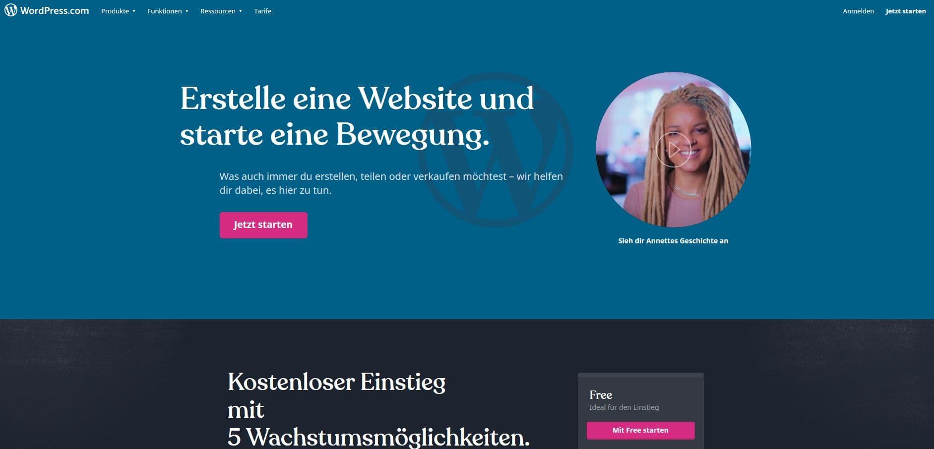 CMS Vergleich WordPress