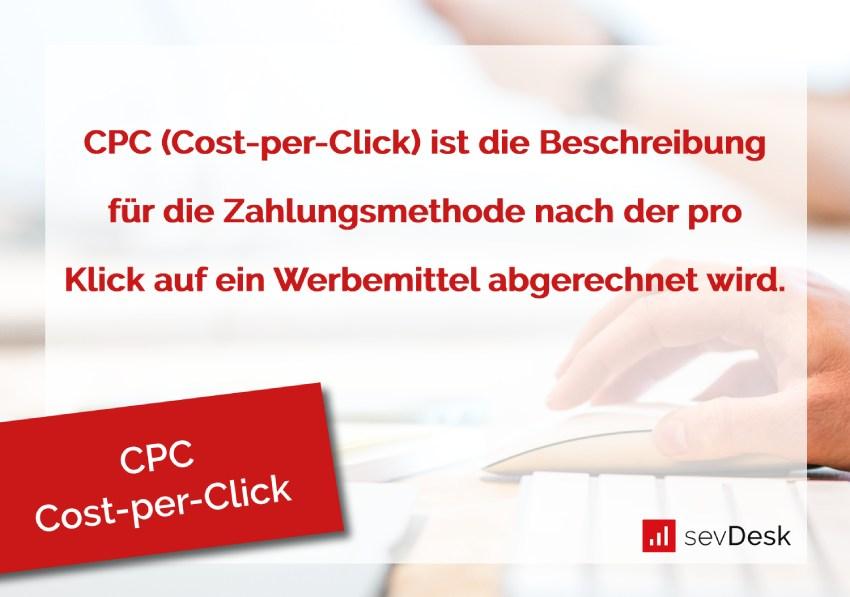 CPC Cost-per-Klick