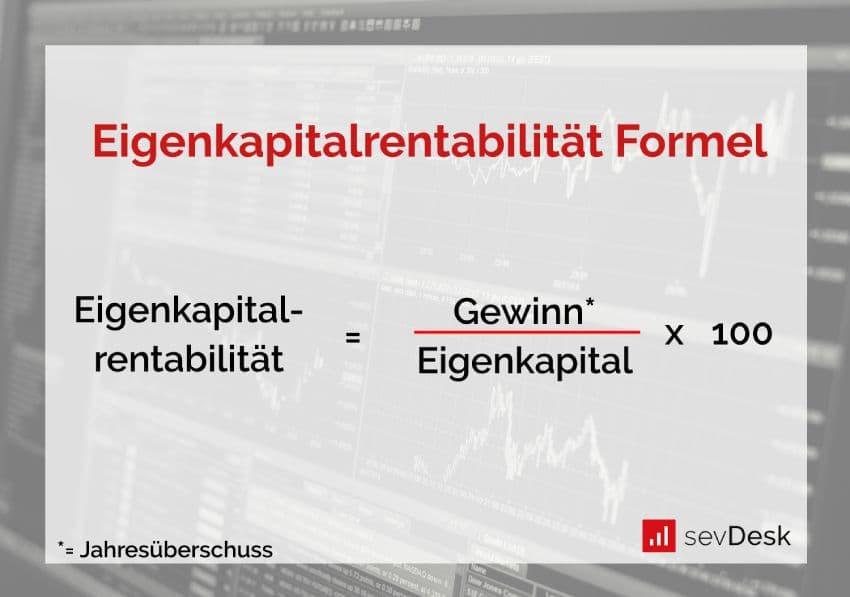 eigenkapitalrentabilitaet berechnen formel