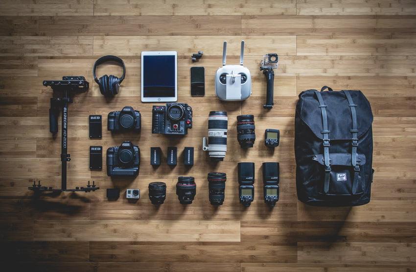 Fotografen Ausruestung