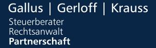 Gallus, Gerloff, Krauss - Steuerberater Rechtsanwalt Partnerschaftsgesellschaft mbB