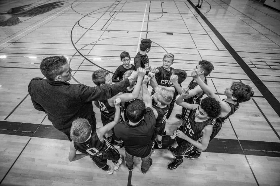 Geschaeftsideen Sport Team coachen