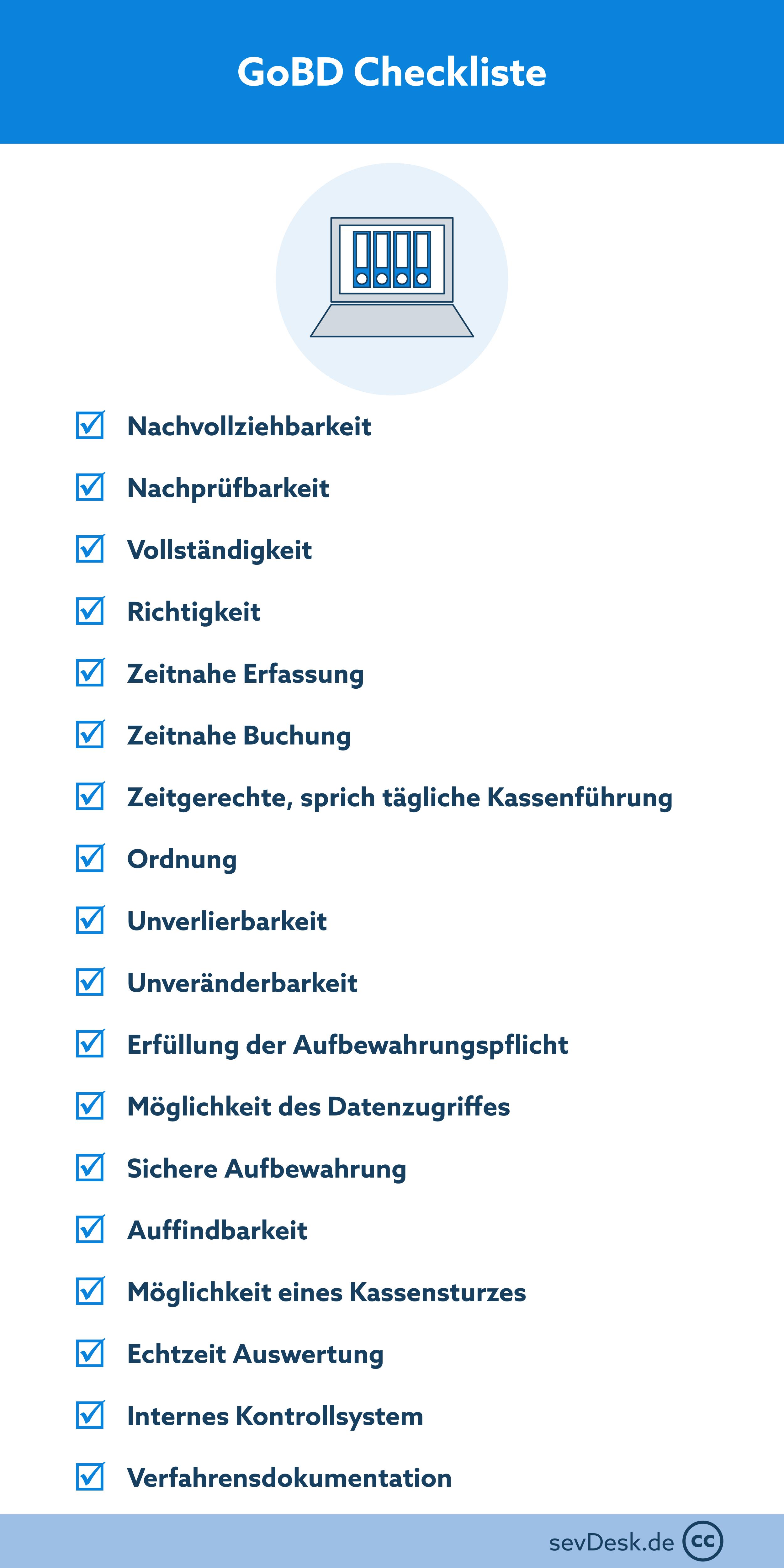 GoBD Checkliste