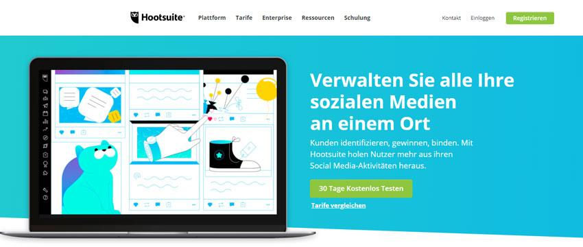 Social Media Monitoring Hootsuite