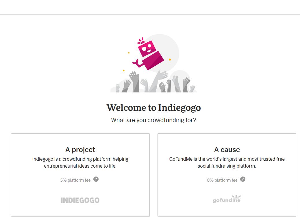 Indiegogo Plattform