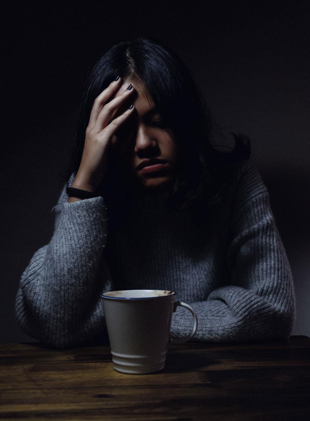 Bei Kopfschmerzen Tee trinken