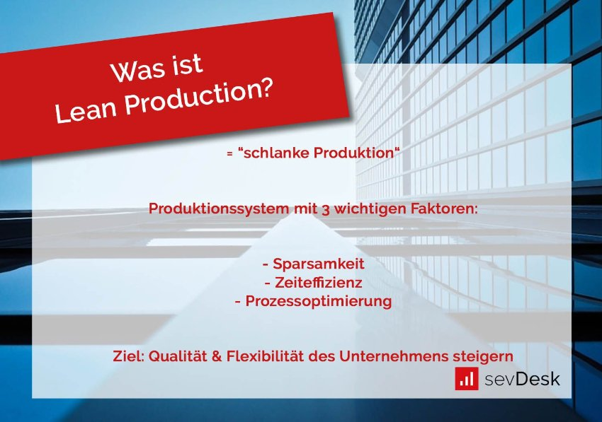 Lean Production Definition
