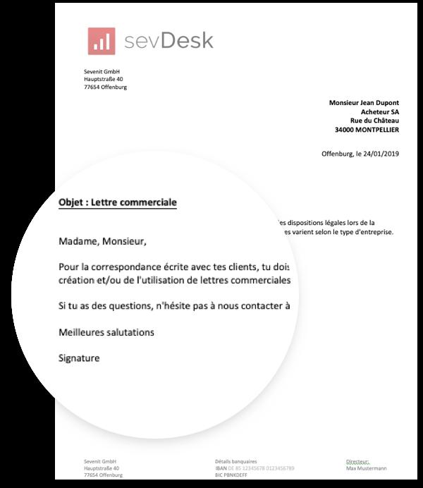mod u00e8le de lettre administrative pour t u00e9l u00e9chargement gratuit