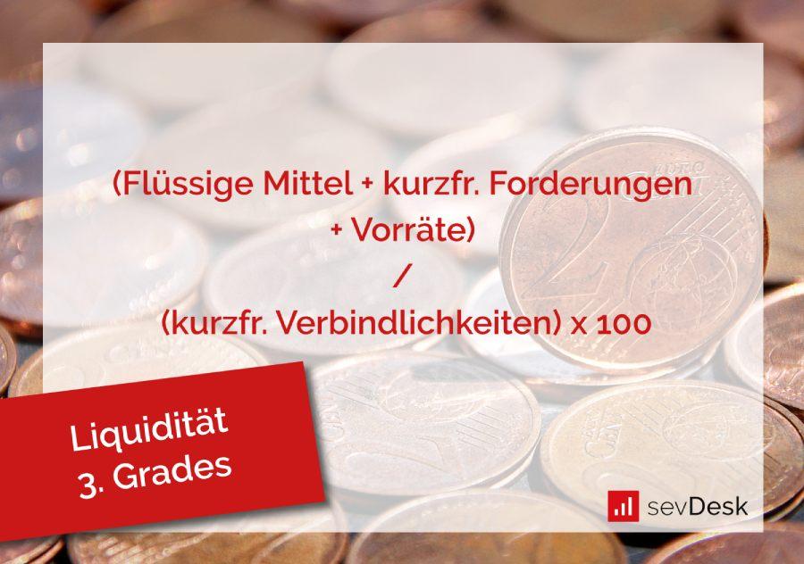 berechnung liquiditaet 3. grades
