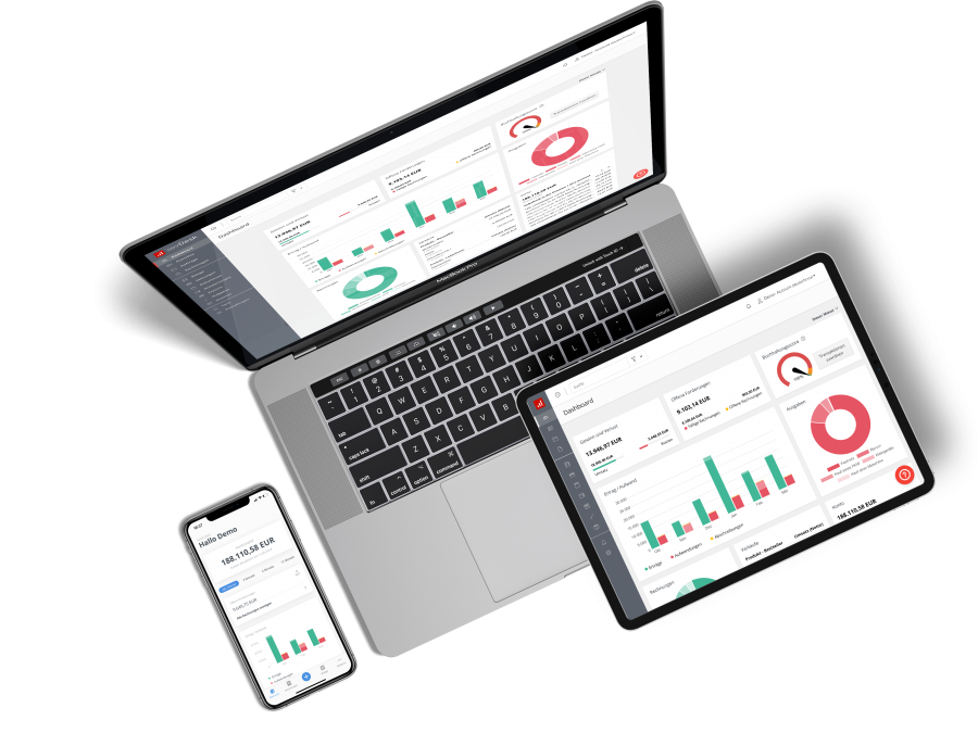 Multi-Devices sevDesk Dashboard