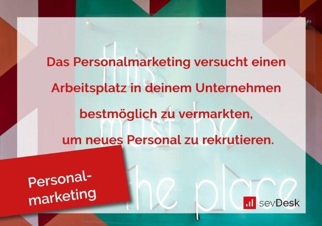 Definition Personalmarketing