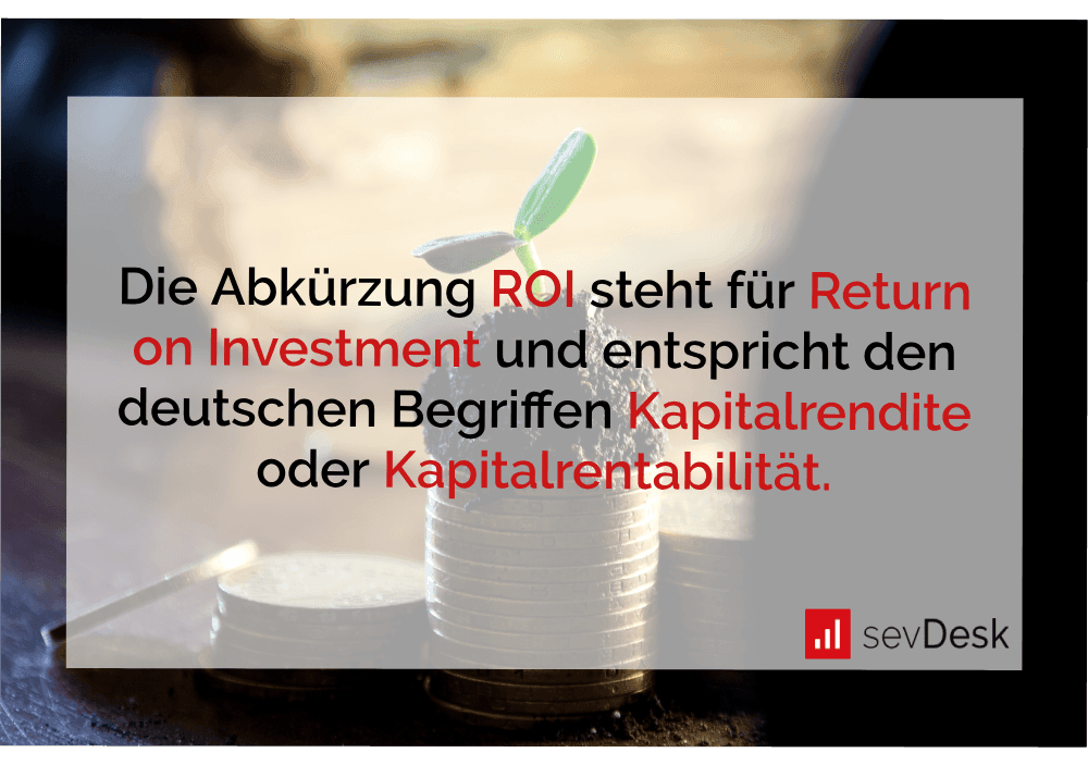 Abkürzung ROI Return on Investment