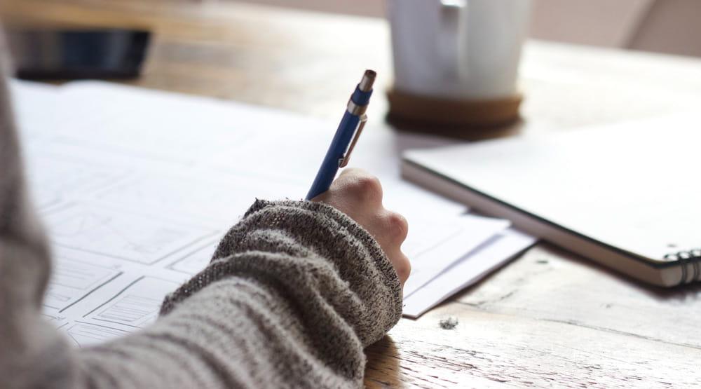 Hobby Schreiben