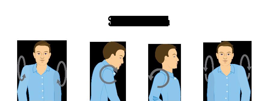 Nackenschmerzen-Uebungen