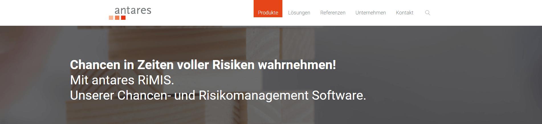 Software antares RiMIS