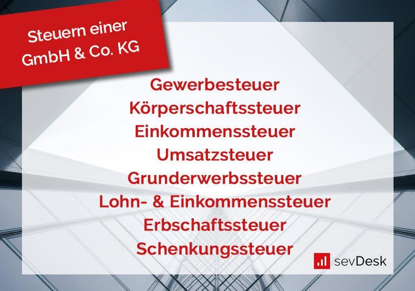 GmbH & Co. KG Steuern