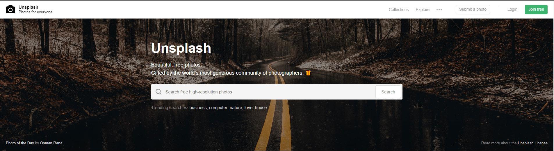 Unsplash kostenlose Bilder