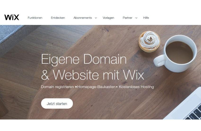Wix eigene Domain