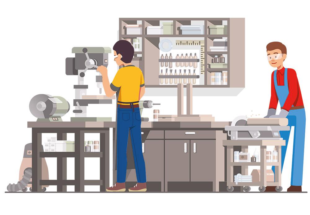 Buchhaltung für Schreiner und Zimmermänner