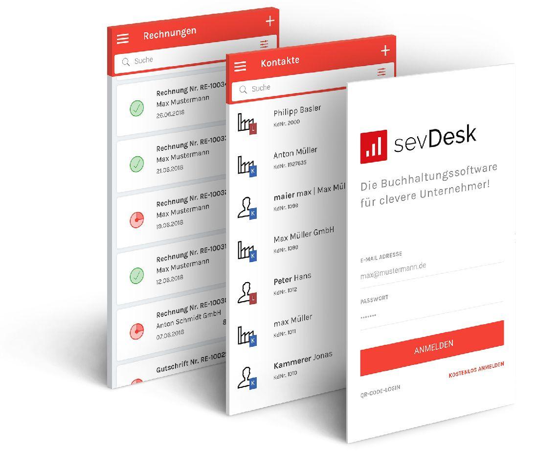 sevDesk app für android