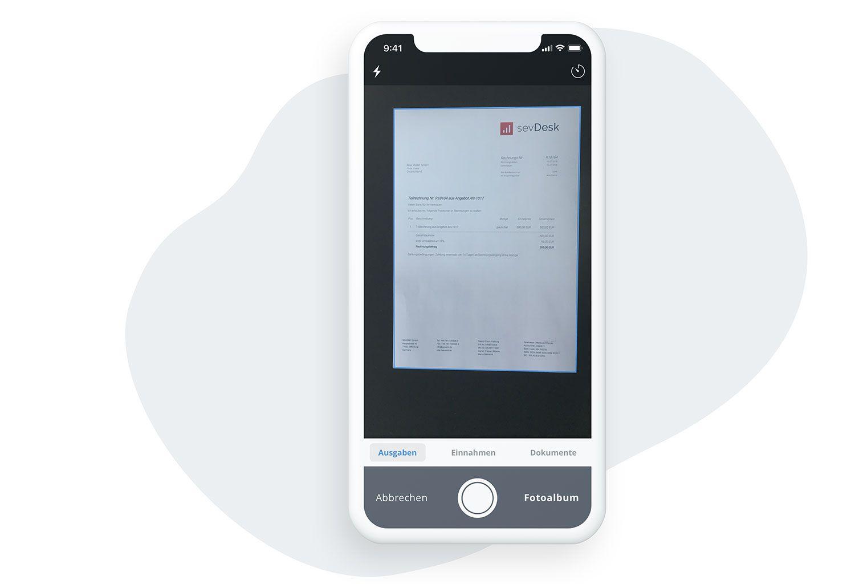 Belege einfach per App digitalisieren