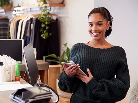 Buchhaltungslösung für den Einzelhandel