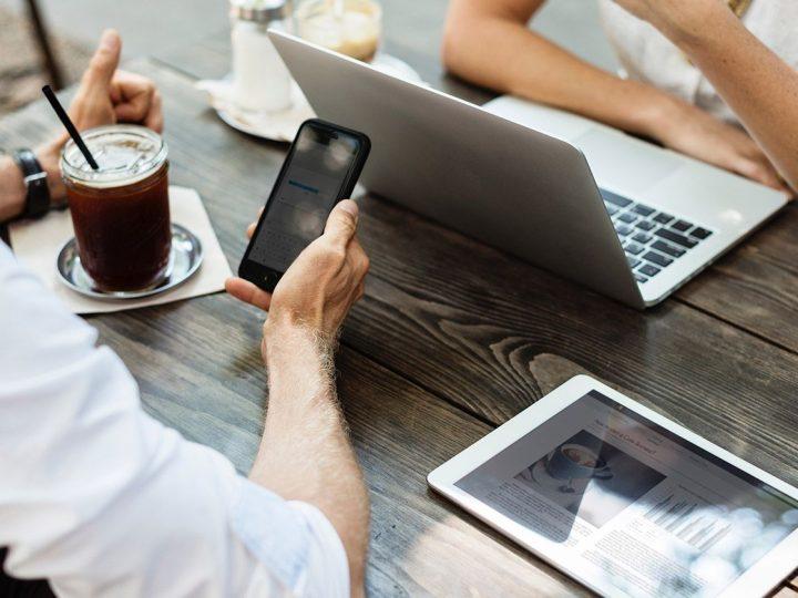 Eine dezentrale Firmenstruktur erlaubt ortsunabhängiges Arbeiten
