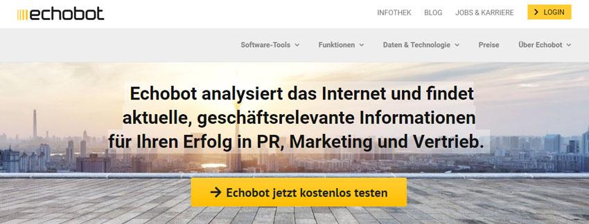 Echobot Monitoring Tool