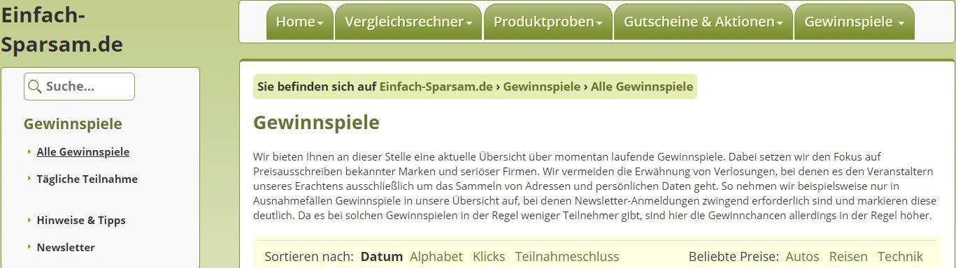 einfach-sparsam.de