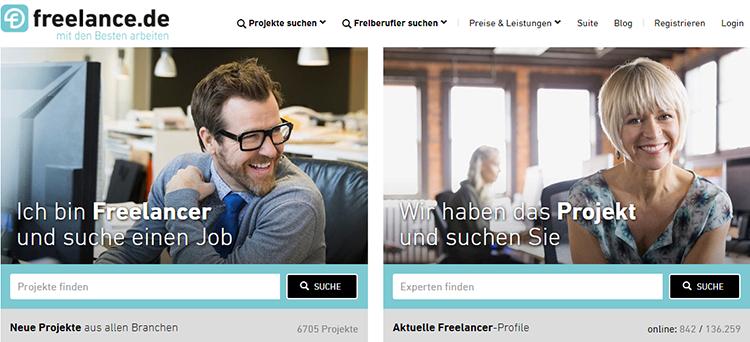 Projektbörse Freelance