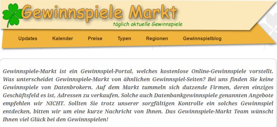 gewinnspiele-markt.de