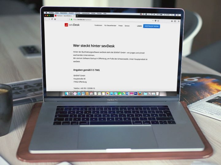 Impressumspflicht für Webseiten