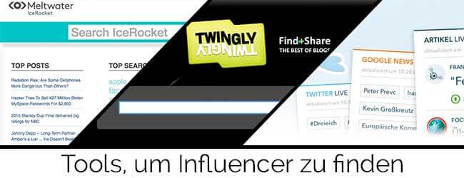 Influencer finden