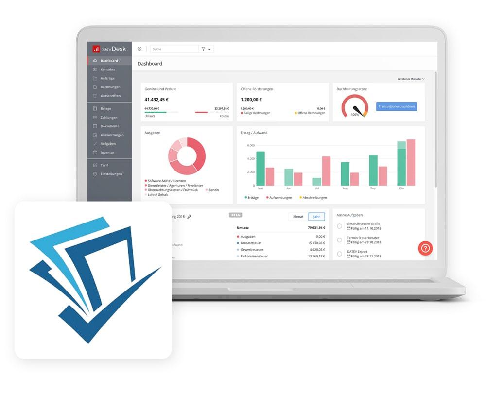 invoicefetcher mit Buchhaltungsoftware verbinden