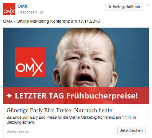 omx facebook ad