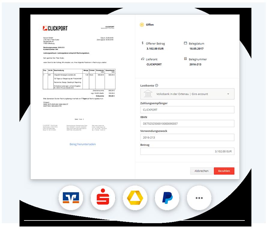 Online-Banking mit einer Buchhaltungssoftware