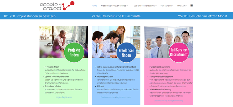 Projektbörse people4project