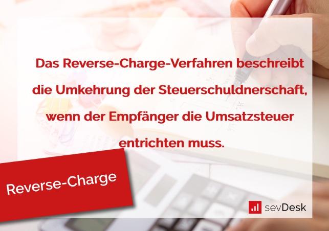 Reverse Charge Verfahren