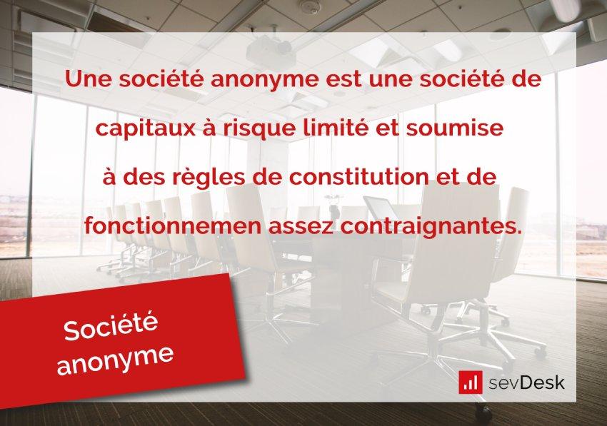 societe anonyme