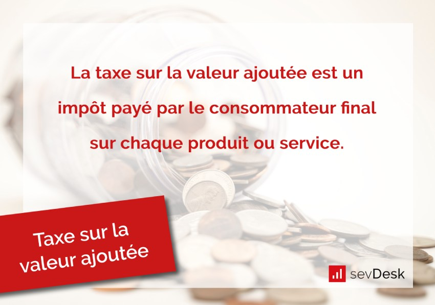 taxe sur la valeur ajoutee