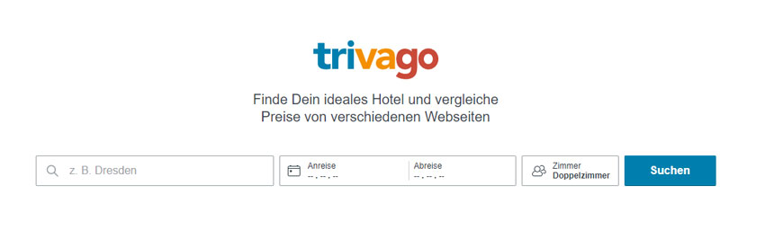 trivago Hotelpreise vergleichen